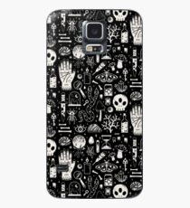Curiosities: Bone Black Case/Skin for Samsung Galaxy