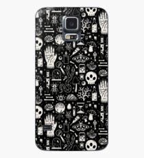 Funda/vinilo para Samsung Galaxy Curiosidades: hueso negro