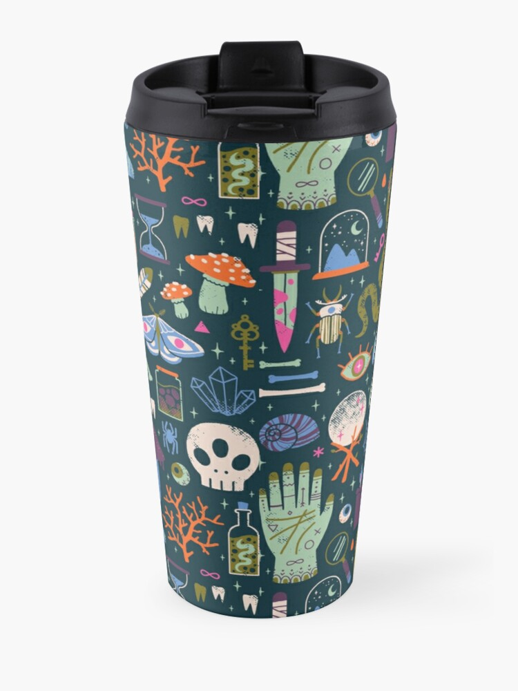 Alternate view of Curiosities Travel Mug