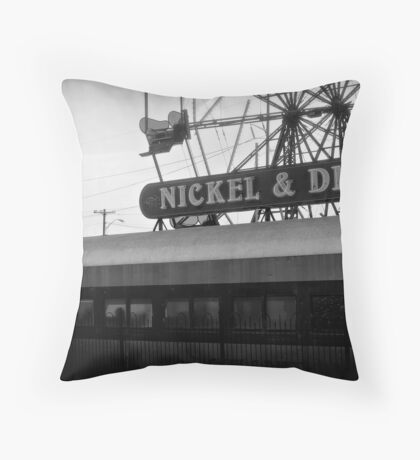 Nickel & Dime Throw Pillow