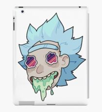 Rick and Morty Face iPad Case/Skin