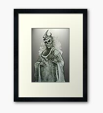 Undead Wight  Framed Print