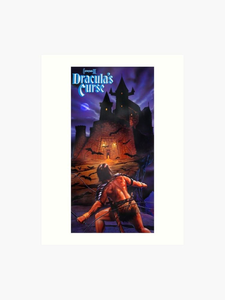 Castlevania, Dracula's Curse - Nintendo Power Restored Vintage Gaming  Poster | Art Print