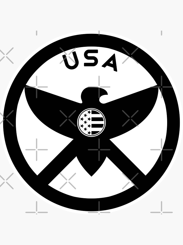 USA - EAGLE / MOLON LABE SHIELD by CentipedeNation