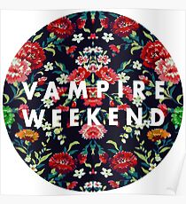 Vampire Weekend Mirrored Poster