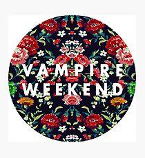 Vampire Weekend Mirrored Photographic Print