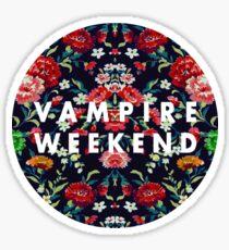 Vampire Weekend Mirrored Sticker