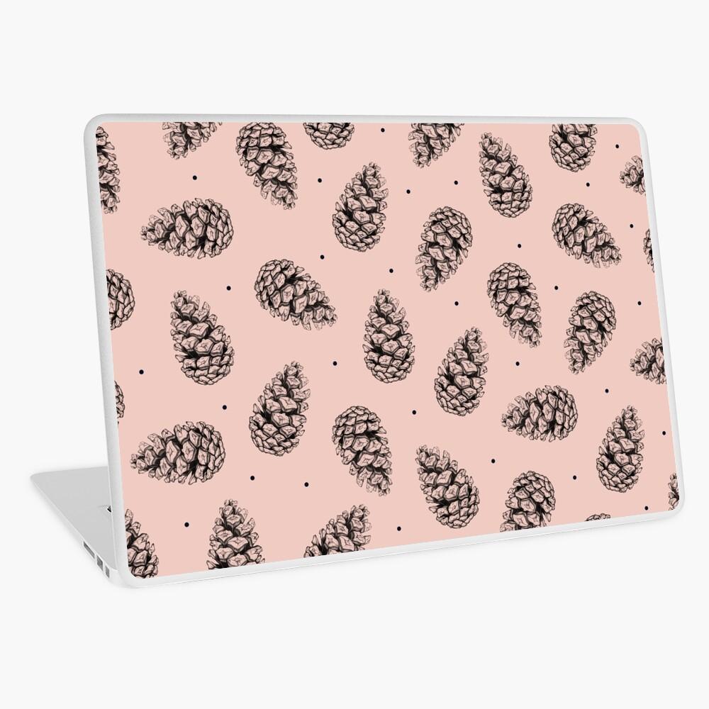 Pink cones. Laptop Skin