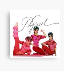 Olivia Newton-John - Let's Get Physical - 80's Pop Canvas Print
