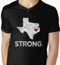 Houston Strong Shirt, Hurricane Harvey Men's V-Neck T-Shirt