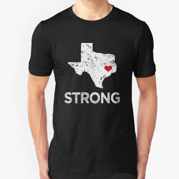 Houston Strong Shirt, Hurricane Harvey Slim Fit T-Shirt