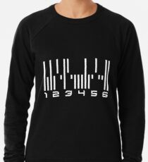 Dunkle Materie - Der Android Barcode Leichter Pullover
