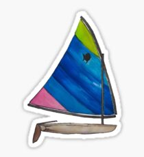 Sunfish Sailboat Sticker