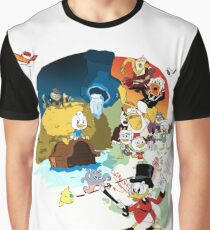 The adventure begins Graphic T-Shirt