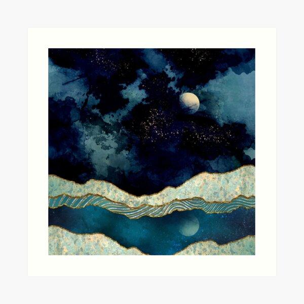 Indigo Sky Art Print