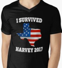 I survived Hurricane Harvey Mens Texas Shirt T-Shirt