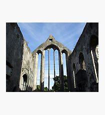 Ennis Abbey ruins Photographic Print