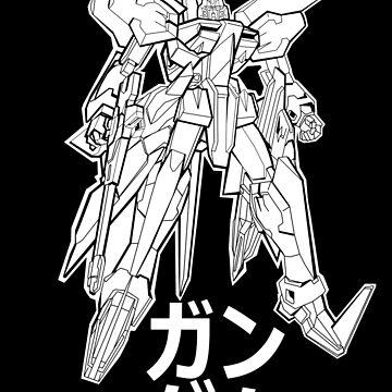 GUNDAM by majotoyokai