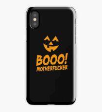 Booo Motherfucker  iPhone Case/Skin