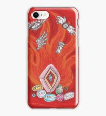 Die by the Fire, Born from the Ashes iPhone Case/Skin
