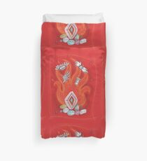 Die by the Fire, Born from the Ashes Duvet Cover