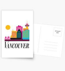 Vancouver Coal Harbour Postcards