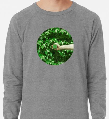 Grüne Träume Leichter Pullover