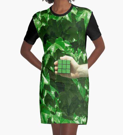 Grüne Träume T-Shirt Kleid