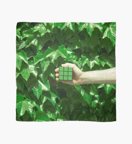 Grüne Träume Tuch
