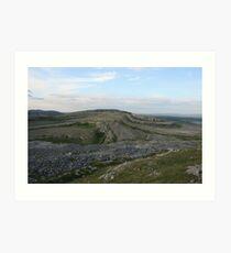 Mullaghmore view Art Print