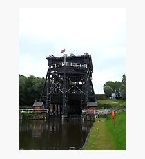 Anderton Boat Lift. Photographic Print