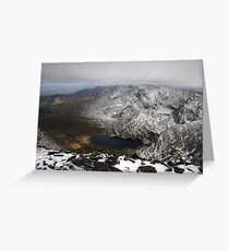 Carrauntoohil winters view Greeting Card