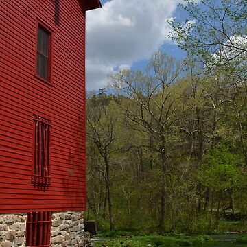 Alley Spring Mill, Easter weekend, 2017 by stlmoon