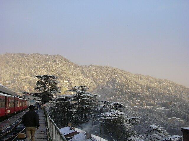 Post-snowfall by aadhityan