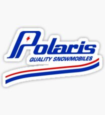 Polaris Vintage Snowmobiles Sticker