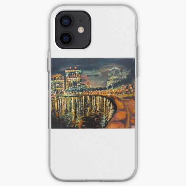 City Lights by Malinda Frances Knowles iPhone Soft Case
