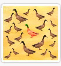 Different Duck Sticker
