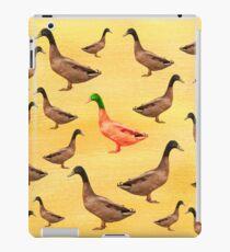 Different Duck iPad Case/Skin