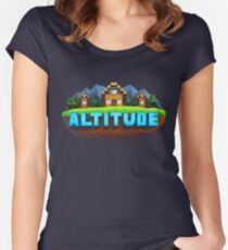 The Altitude Community Women's Fitted Scoop T-Shirt
