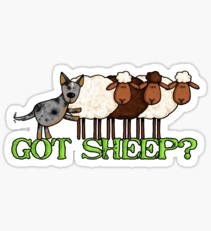 got sheep? Sticker