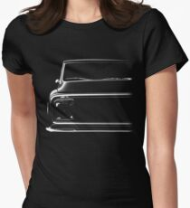 Chevy C-10 Pickup, black shirt Women's Fitted T-Shirt