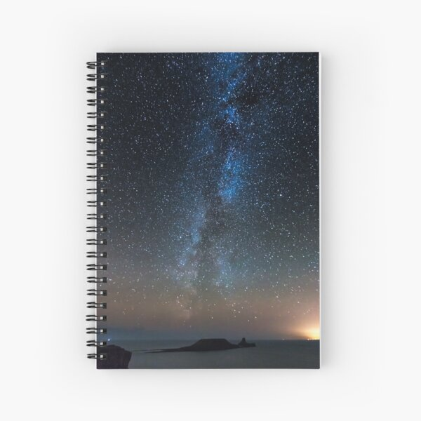 Worms Head Milky Way Spiral Notebook