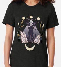 Camiseta de tejido mixto Luna