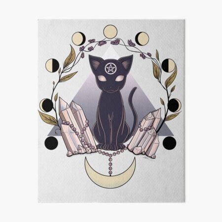 Luna Art Board Print