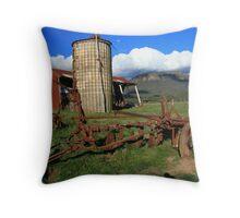 buxton farm Throw Pillow