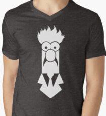 Beaker B&W Men's V-Neck T-Shirt