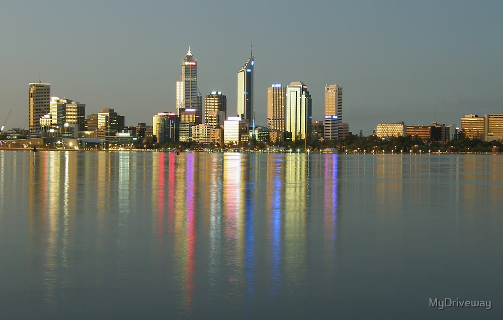 Perth Skyline by MyDriveway