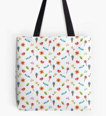 Watercolor Doodles Tote Bag