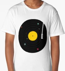 Camiseta larga musica en todas partes