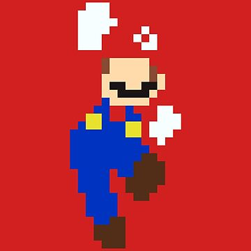Mario pixel by Vhitostore